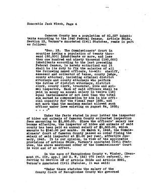Primary view of object titled 'Texas Attorney General Opinion: O-4721'.