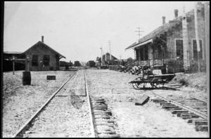 Primary view of [Train Yards at Palestine]