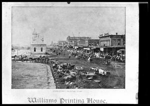 Primary view of object titled '[Spring Street Looking West]'.