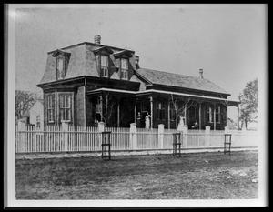 Primary view of object titled '[Unidentified House 80345]'.