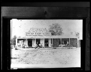 Primary view of object titled '[A. Joost - Cheap Cash Store - 601 E Lacy]'.