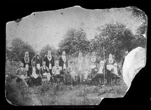 Primary view of object titled '[Unidentified Group of Men 03438]'.