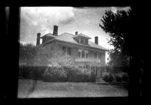 Primary view of object titled '[638 S. Magnolia - Silliman House]'.