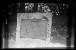 Primary view of object titled '[Historical Marker]'.