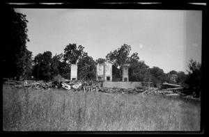 Primary view of object titled '[Demolished House]'.