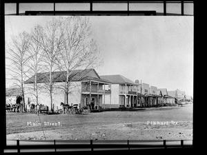 Primary view of object titled '[Main Street - Elkhart]'.