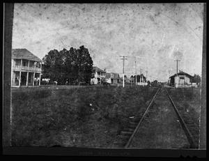 Primary view of object titled '[Unidentified Town in Anderson County]'.