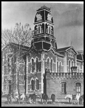 Primary view of object titled '[Third Anderson County Courthouse]'.