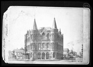Primary view of object titled '[Temple Opera House]'.