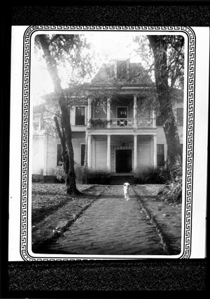 Primary view of object titled '[John H. Reagan's Home]'.