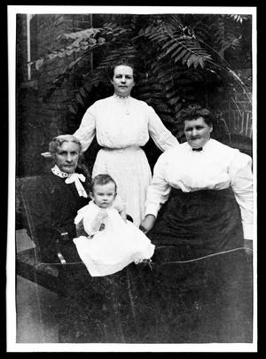 Primary view of object titled '[Four Generation Photograph]'.