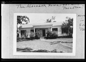 Primary view of object titled '[407 E. Kolstad - Mallard Alexander House]'.