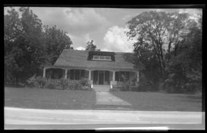 Primary view of object titled '[House once located on NE Corner of Link and Kolstad Streets]'.