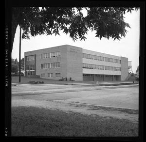 Primary view of object titled '[Mo Pac Credit Union Building]'.