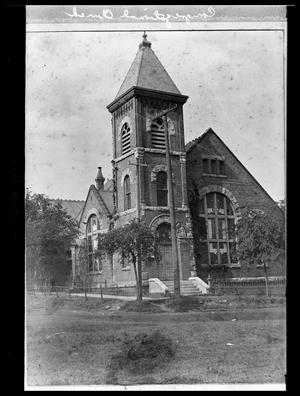 Primary view of object titled '[Centenary Methodist Church - Palestine]'.