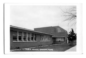 Primary view of object titled 'Public School - Sanger, Texas'.