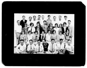 Primary view of object titled '[Sanger High School Class of 1929]'.