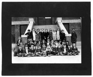 Primary view of object titled '[Sanger School class picture 1926, Second grade]'.