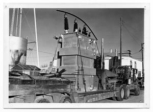 Primary view of object titled '[Electric power plant equipment]'.