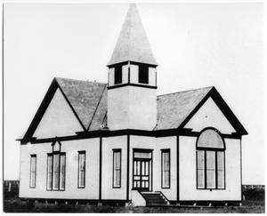 Primary view of object titled '[Sanger Presbyterian Church]'.