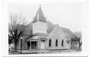 Primary view of object titled 'First Baptist Church - Sanger, Texas'.