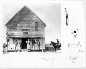 Primary view of object titled '[Gipson & Babb General Store]'.