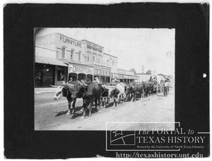 Primary view of object titled 'Hico Main Street'.
