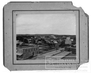 Primary view of object titled 'Birdseye View of Meridian'.
