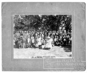 Primary view of object titled 'Woodmen of the World Picnic'.