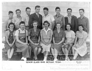 Primary view of object titled 'Morgan Senior Class of 1943'.