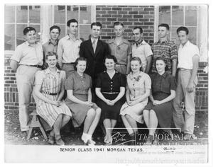 Primary view of object titled 'Morgan Senior Class of 1941'.