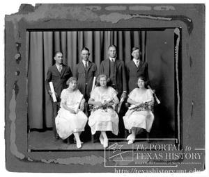 Primary view of object titled 'Clifton High School Class of 1923'.