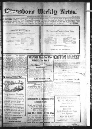 Primary view of object titled 'Winnsboro Weekly News (Winnsboro, Tex.), Vol. 12, No. 4, Ed. 1 Friday, September 17, 1920'.