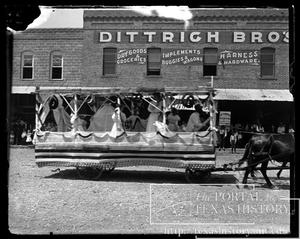 Primary view of object titled '[parade float #4]'.
