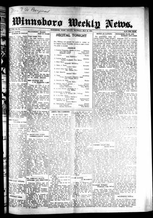 Primary view of object titled 'Winnsboro Weekly News (Winnsboro, Tex.), Vol. 17, No. 33, Ed. 1 Thursday, May 21, 1925'.