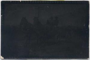Primary view of object titled '[Horses and Buggy]'.