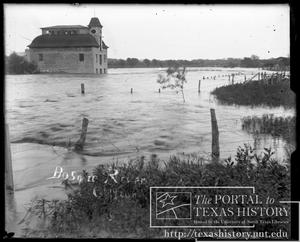 Primary view of object titled 'Bosque River Flood, Old Mill #3'.