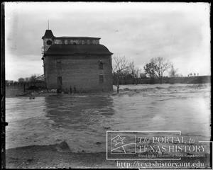 Primary view of object titled 'Bosque River Flood, Old Mill #1'.