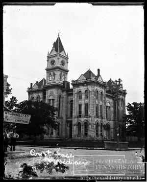 Primary view of object titled 'Bosque County Courthouse'.