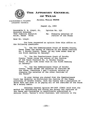 Primary view of object titled 'Texas Attorney General Opinion: M-454'.