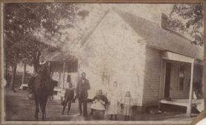 [Abner C. Stewart and Family]