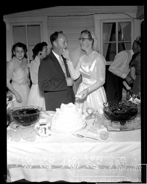 Primary view of object titled '[Woodward-Giltmeyer Wedding #9]'.