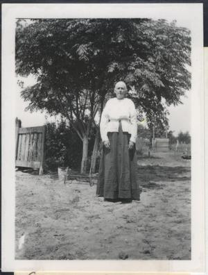 Primary view of object titled '[Photograph of Grandma Kingsbury]'.