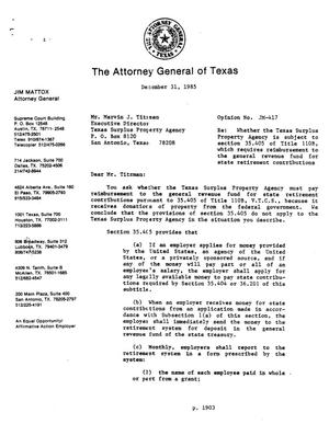 Primary view of object titled 'Texas Attorney General Opinion: JM-417'.