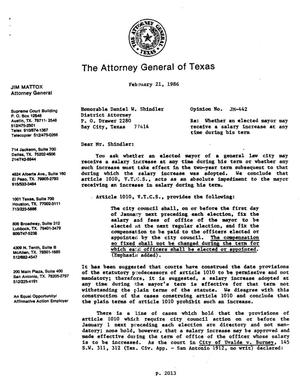 Primary view of object titled 'Texas Attorney General Opinion: JM-442'.