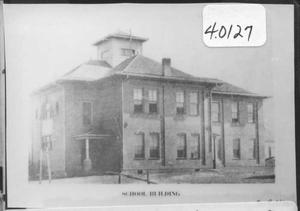 Primary view of object titled '[Aubrey School During 1908]'.