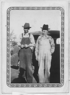 Primary view of object titled '[Bob Goin and Unidentified Man]'.