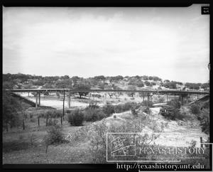 Primary view of object titled '[Overpass at Valley Mills #9]'.