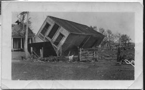 Primary view of object titled '[Main Street after the Tornado, 1918]'.