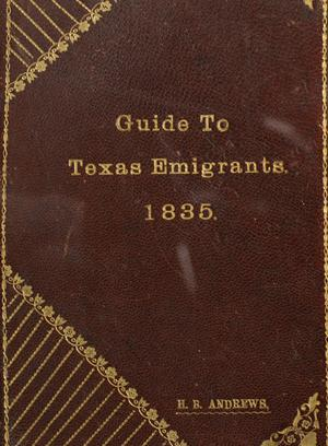Guide to Texas emigrants